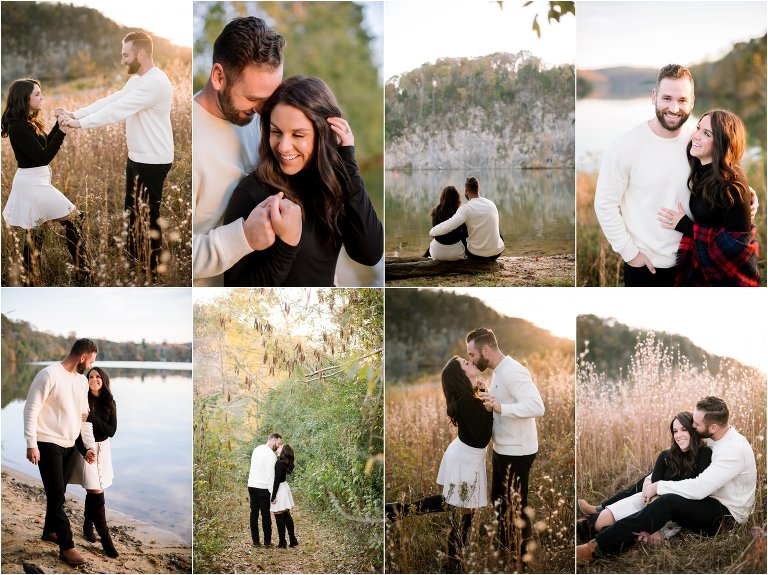 knoxville engagement at melton hill park