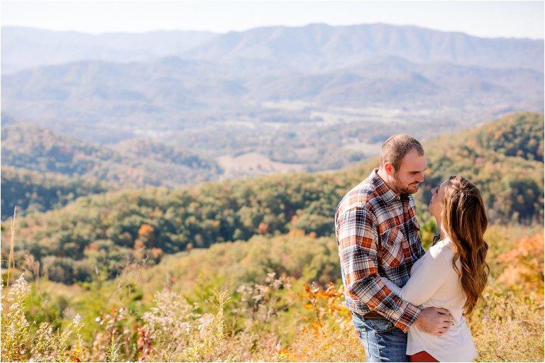 smoky mountain wedding photos