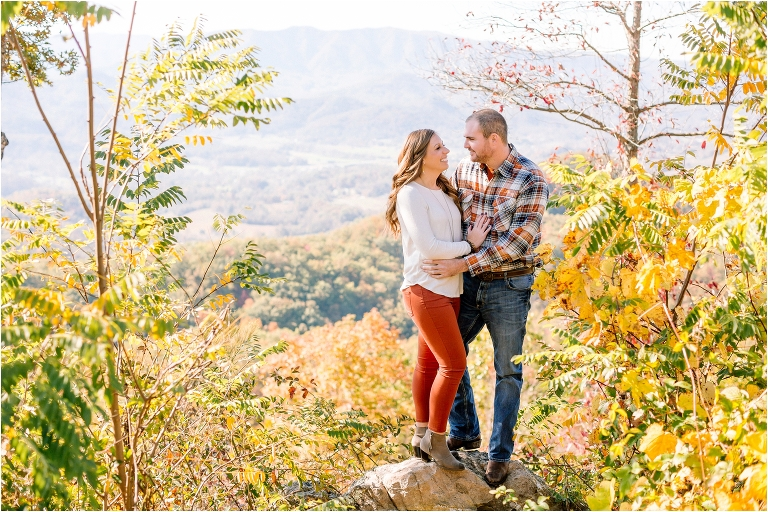 smoky mountain engagement pictures