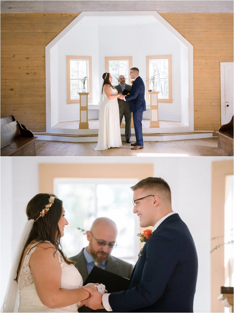 cades cove church wedding