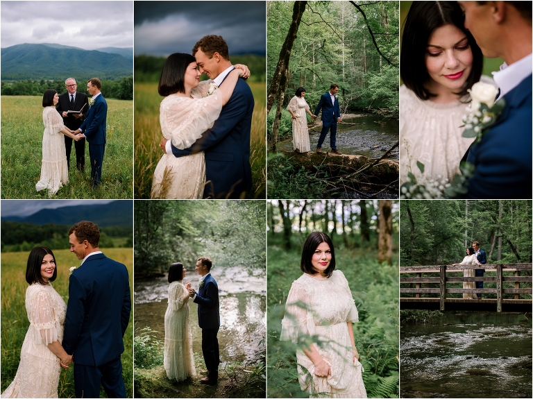 Cades Cove Elopement Photographer