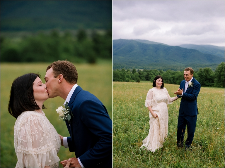 cades cove wildlife overlook elopement